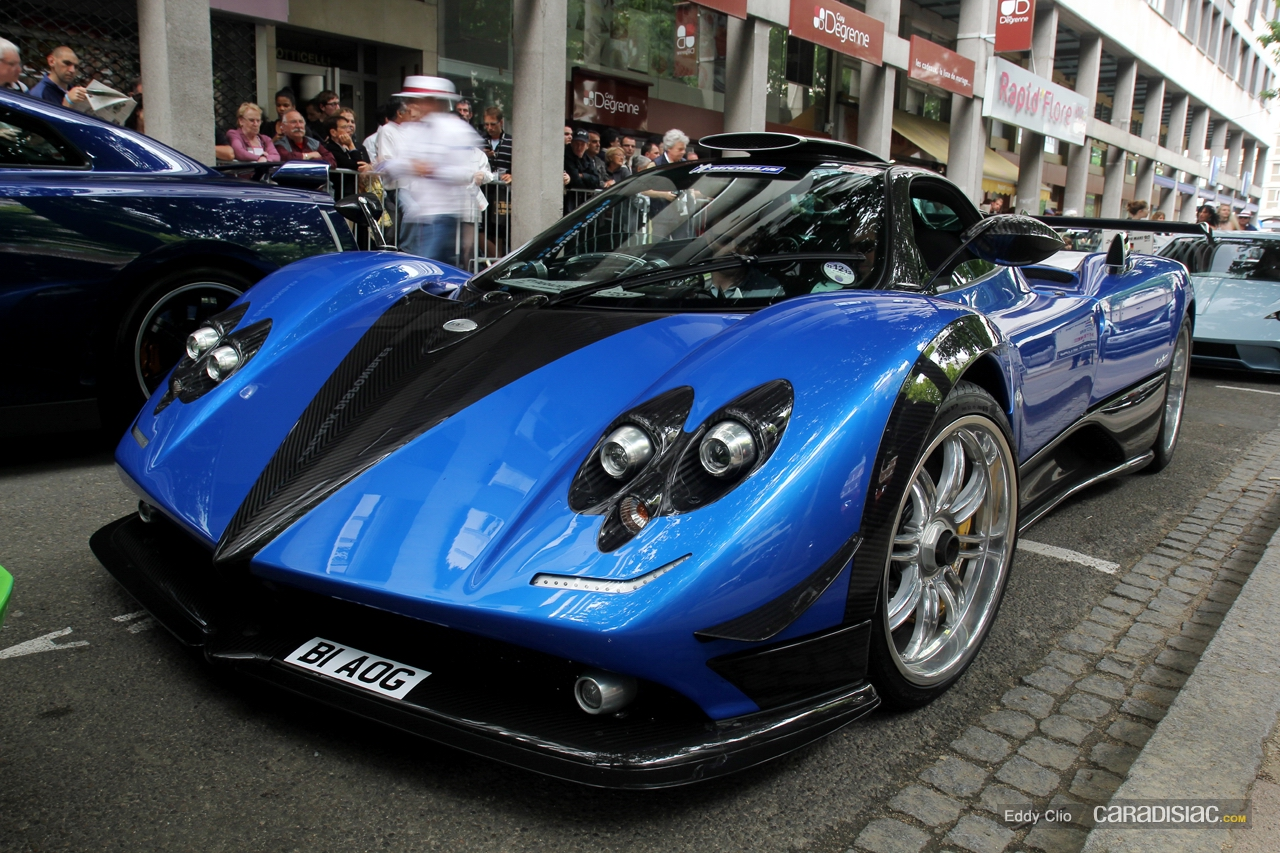 photos du jour pagani zonda ps parade des pilotes du mans. Black Bedroom Furniture Sets. Home Design Ideas