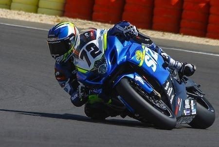Championnat d'Europe Superbike FIM CEV Repsol: podium à Albacete pour Delhalle