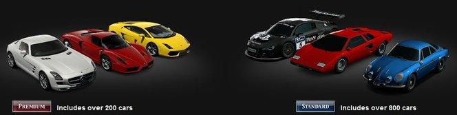 GT5 : 20% des autos seulement offriront une expérience premium !