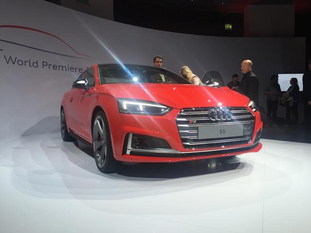 Nouvelle Audi A5 coupé : découvrez sa première vidéo en live