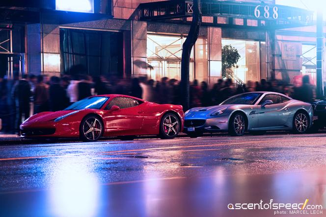Rappel : 206 Ferrari 458 et California de retour au garage pour un défaut moteur