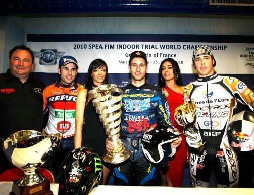 Trial Indoor : Albert Cabestany une nouvelle fois vainqueur à Marseille