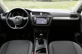 Planche de bord du Volkswagen Tiguan.