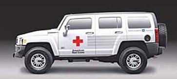 Hummer est généreux avec la Croix Rouge