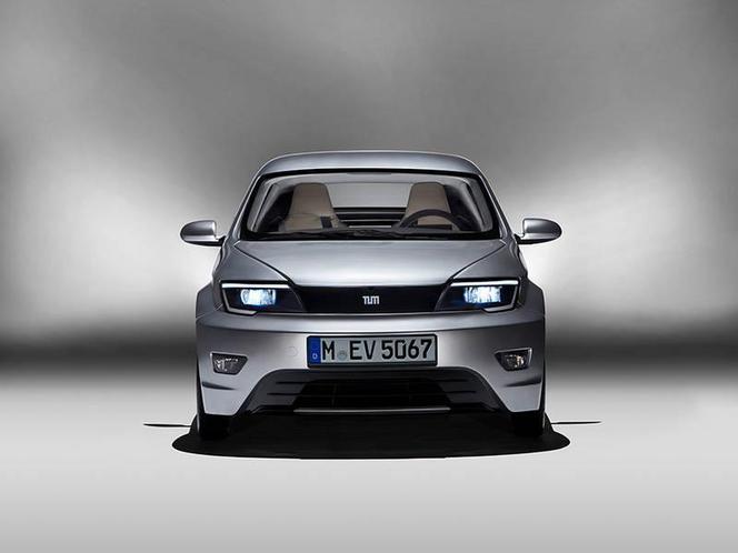 Visio.M: un concept de véhicule électrique par une université allemande