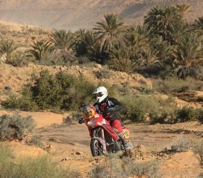 Rallye de Tunisie 2009: étape n°4, avantage Coma.