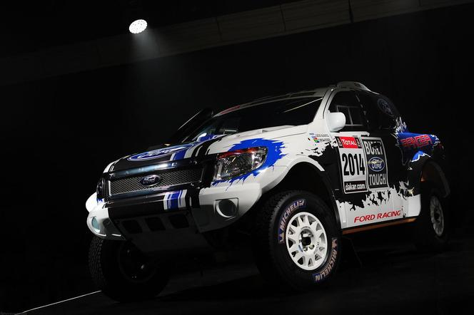 Ford Racing sur le Dakar 2014