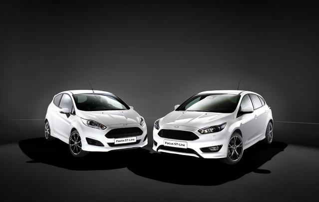 Ford ST Line : le look d'une sportive pour les Fiesta et Focus