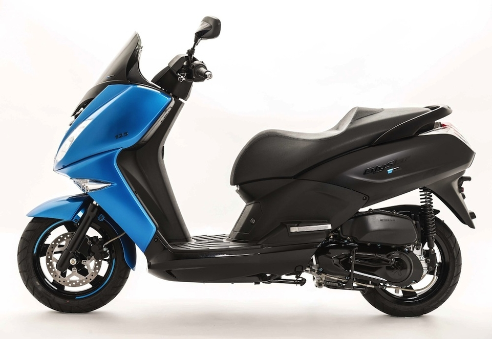 Nouveauté Peugeot Scooters 2015 : nouveau coloris Blue Line pour les Citystar, Métropolis et Satelis