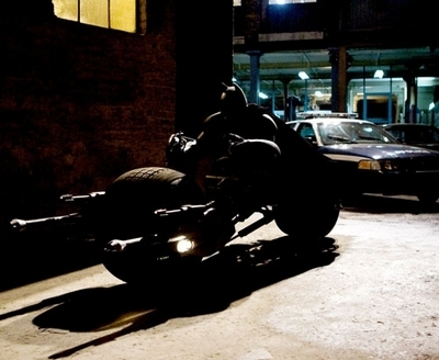 Cinéma : Batman à moto
