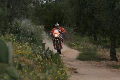Tunisie 2009: étape 5, Desprès remporte la plus longue spéciale du rallye.