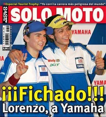 Moto GP: La Photo du Jour: Quand la rumeur s'emballe.