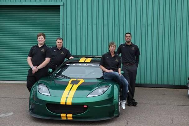 Nouvelle Lotus Evora GTC: pour la compétition