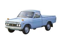 L'Hilux à sa création en 1968. 18 millions de modèles ont été vendus depuis cette date dans le monde! Pick-up le lus vendu en Europe. Voilà pour le pedigree.