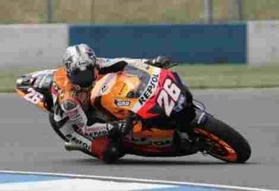 Moto GP: Grande Bretagne: L'an dernier à Donington.
