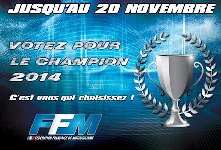 FFM: élisez le Champion français 2014