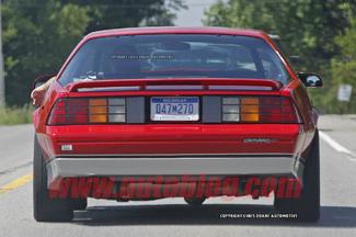 Chevrolet teste la nouvelle Camaro avec... une ancienne