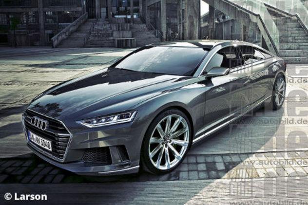 Futures Audi A9 concept et A7: comme ça?