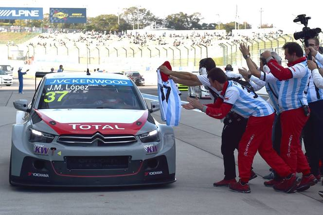 WTCC/Japon: Lopez champion du monde 2014 avec Citroën!