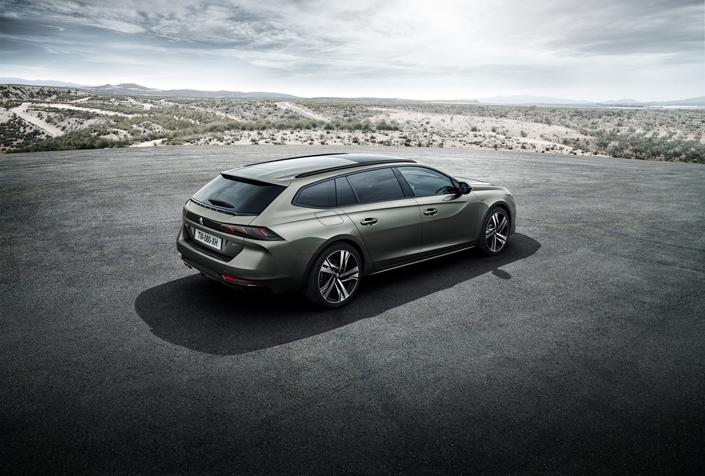 La Peugeot 508 SW sera commercialisée en janvier 2019.