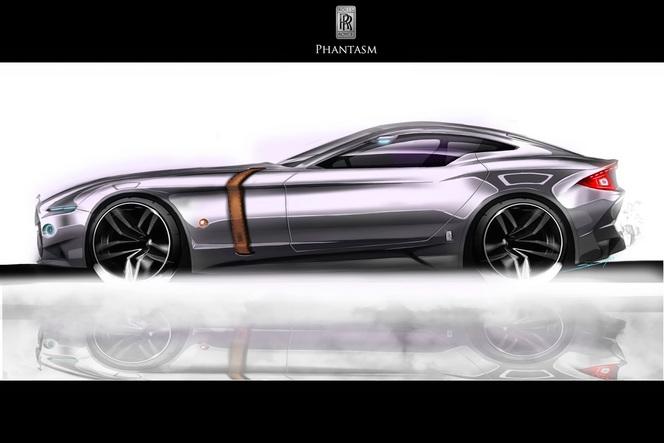 Rolls Royce Phantasm Design Concept: en voudrions-nous?