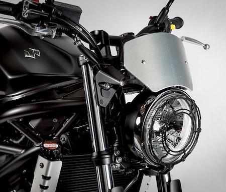 Nouveauté 2016: série limitée Suzuki SV650 Scrambler