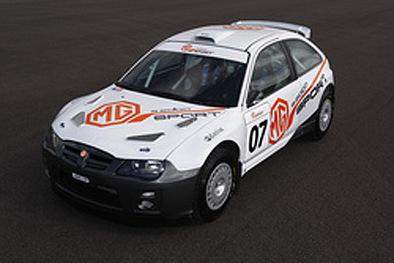 MG ZR S2000: les chinois dans la course