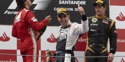 F1/GP de Barcelone - Victoire historique de Williams Renault et Maldonado