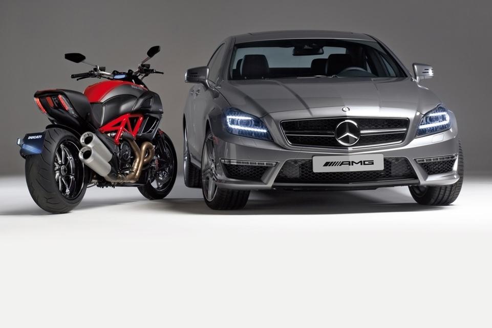 Ducati/AMG : Le communiqué de presse de ce partenariat [+ vidéo]