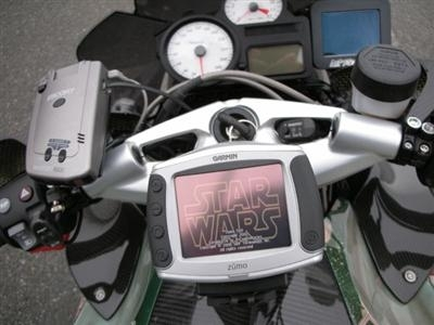 Photo du jour : Boba Fett's BMW K12R