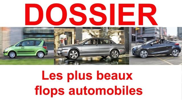 Renault Vel Satis, Talbot, Jaguar X-Type, Citroën C6, Daimler-Chrysler, Talbot, Peugeot 1007... : les plus beaux flops automobiles