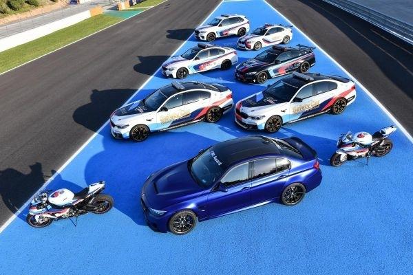 BMW présente ses voitures de sécurité pour le MotoGP
