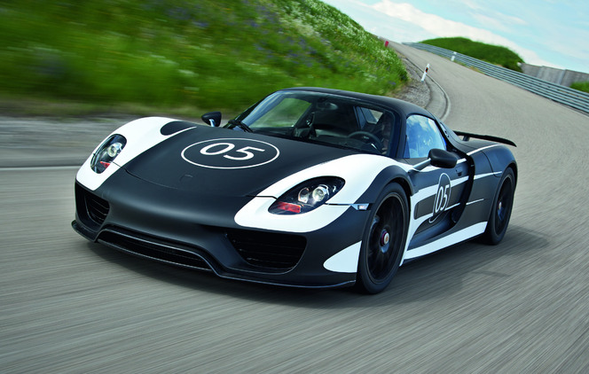 Porsche nous dévoile officiellement son prototype 918 Spyder