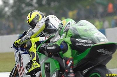 Moto GP: Grande Bretagne D.3: C'est mouillé !