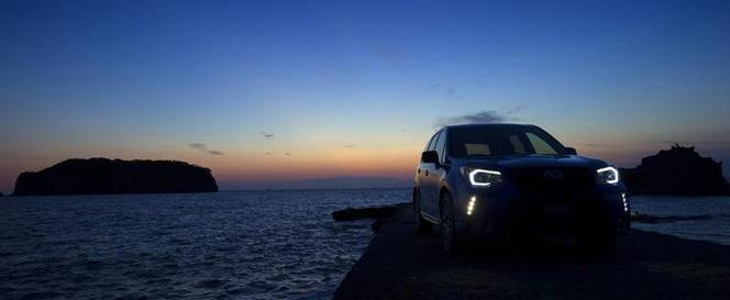 Subaru Forester STI : instant teaser