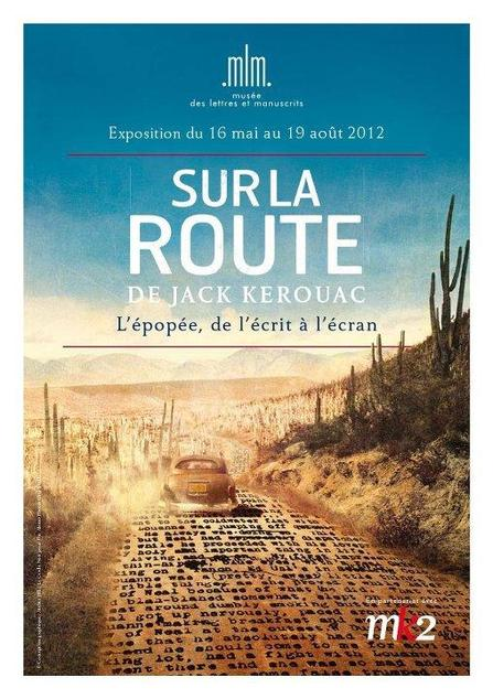 (Minuit chicanes) Le tapuscrit de Sur la route, de Jack Kerouac exposé en France