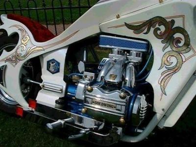 Photo du jour : Honda Goldwing GL 1000 CHOPPER