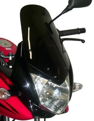 Grosse bulle estampillée Bullster pour petit Honda CBF 125.