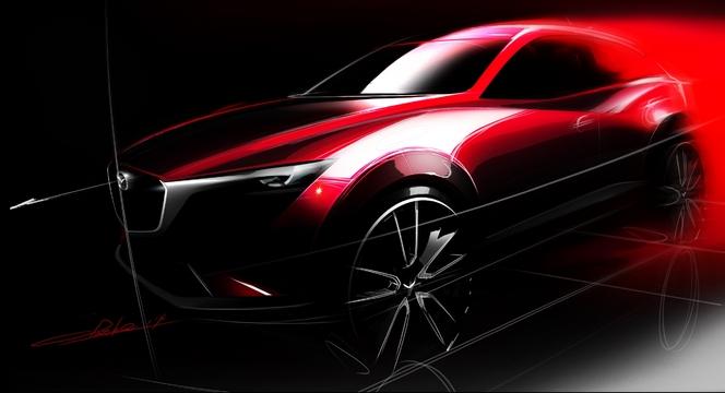 Salon de Los Angeles - Mazda présentera son nouveau CX-3