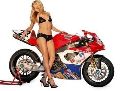 Moto & Sexy : Supplément sport de Yamaha YZF R1