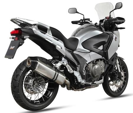 Mivv : un Speed Edge pour la Honda Crosstourer