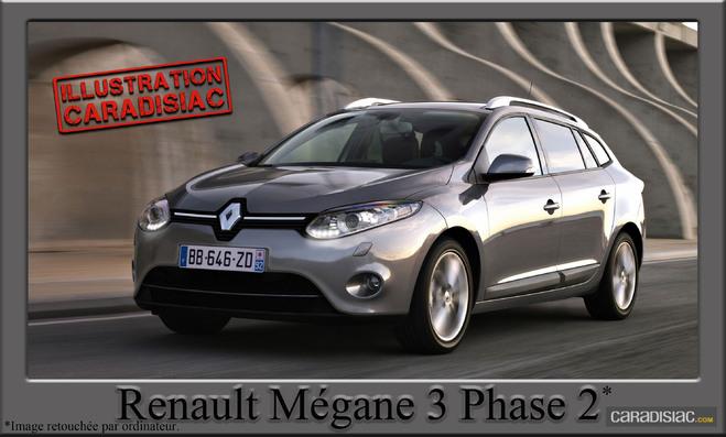 2012 : restylage annoncé pour la Mégane !