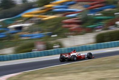 GP2 Hongrie Course 1: Carroll funny, Glock fanny