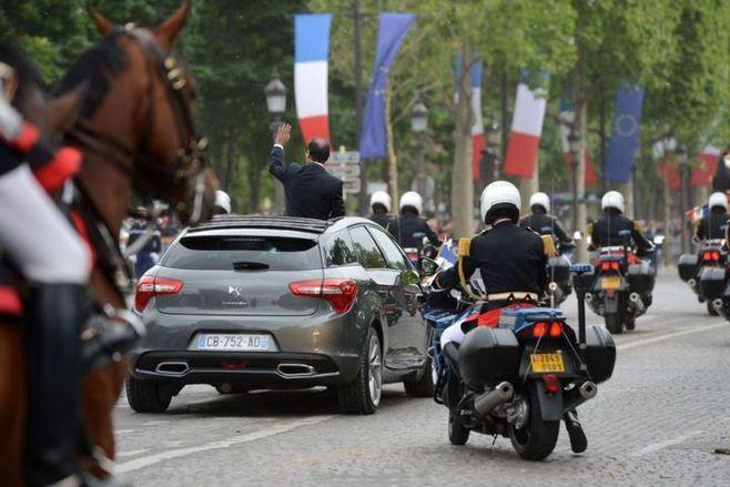 La Citroën DS5 et François Hollande : un amour éphémère ?