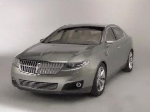 2015 Lincoln Town Car Concept