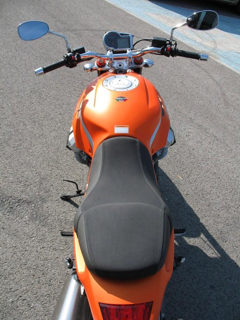 Essai Moto Guzzi 1100 Griso : saveur de légende