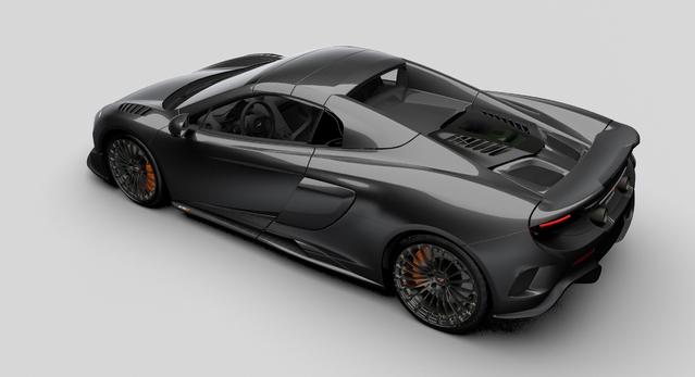 McLaren dévoile une 675 LT Spider en carbone