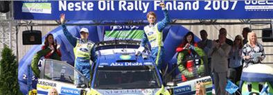 WRC Finlande: Gronholm et Ford s'envolent