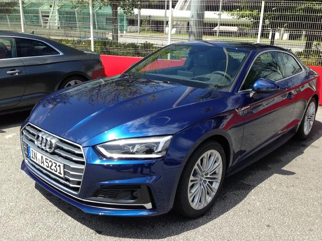Première vidéo de la nouvelle Audi A5 - Découvrez les premières images de l'essai en live