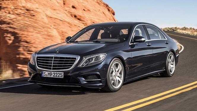 Toutes les nouveautés du salon de Francfort 2013 - Mercedes Classe S : magique